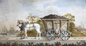 'The Coal Waggon' © and by courtesy of Northumberland Archives, ZMD 78/14