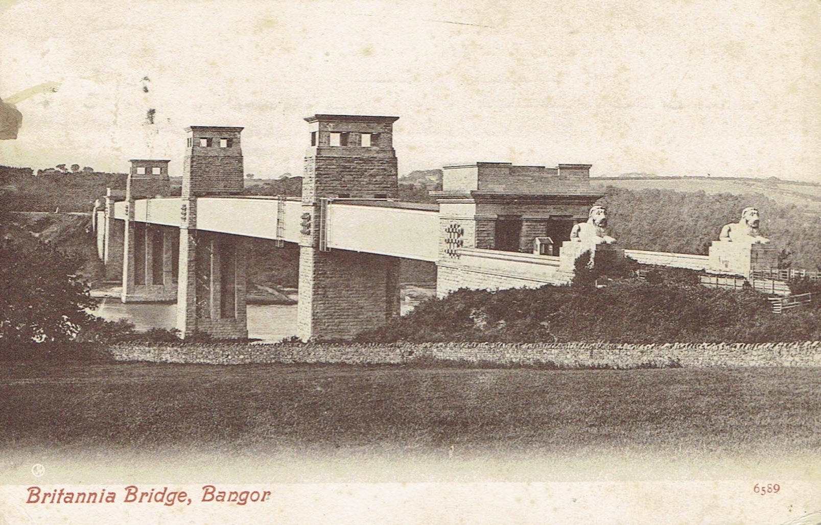Britannia Bridge - Bangor