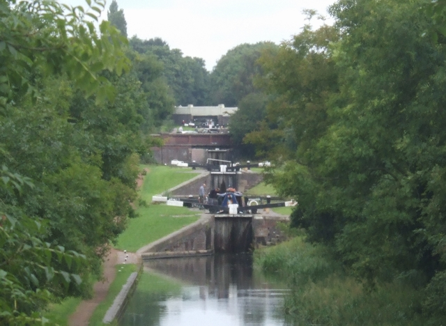 Walsall Walkabout (part 2) - Rushall & Daw End Canals and ...