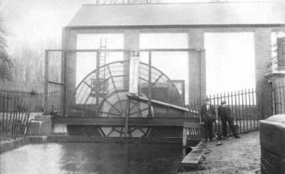 Pumping Station, Reedswood Park, Walsall, 1924 (Walsall Council)
