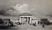 The Great Arch Euston Station, c1838 (RCHS Collection)